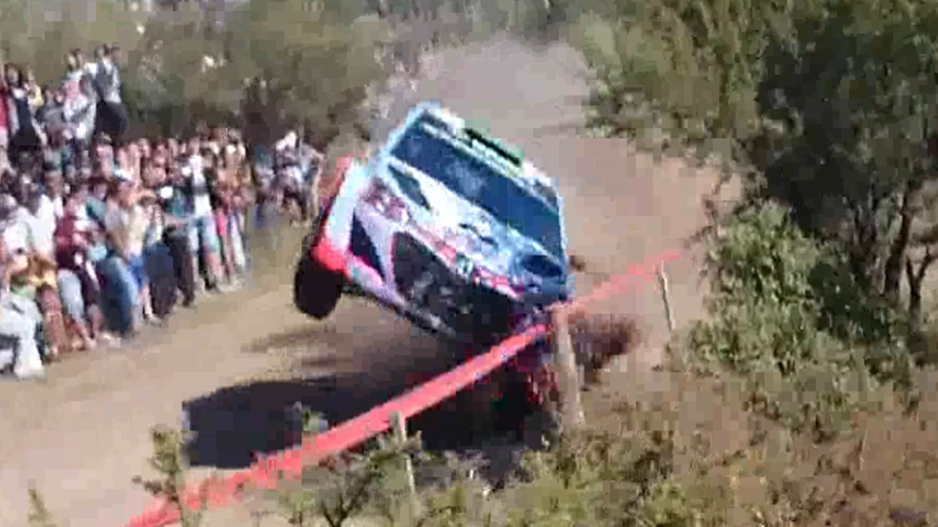 Paddon incidente Argentina