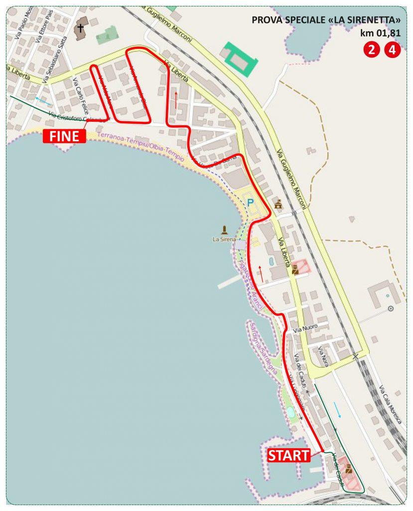 Cartina Sardegna Golfo Aranci.Cartina Ps Golfo Aranci Cdr Rallyssimo