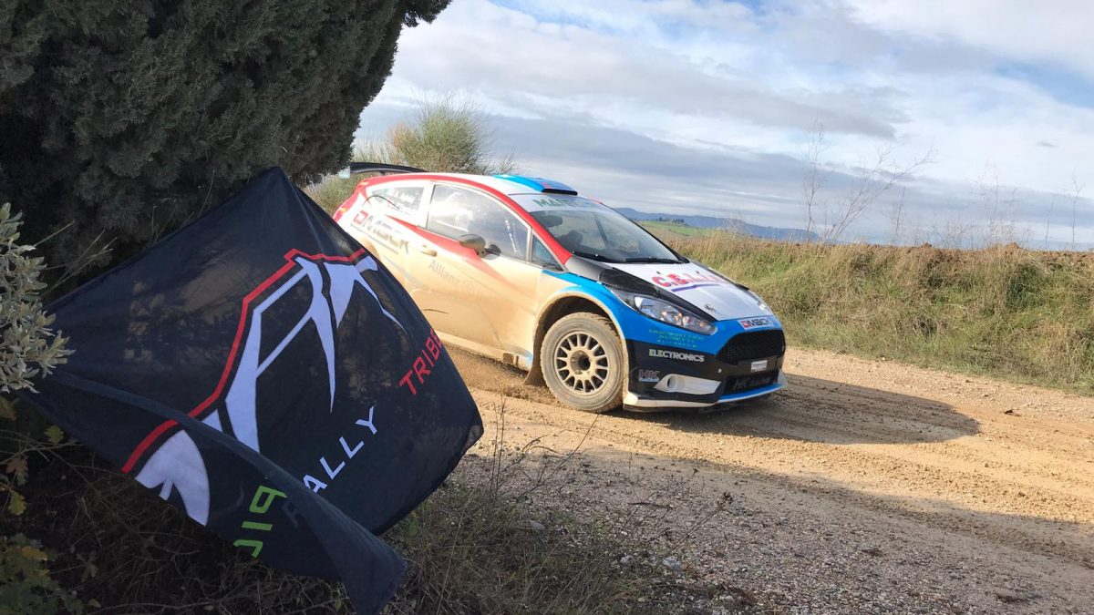 aghini test epic rally tribe
