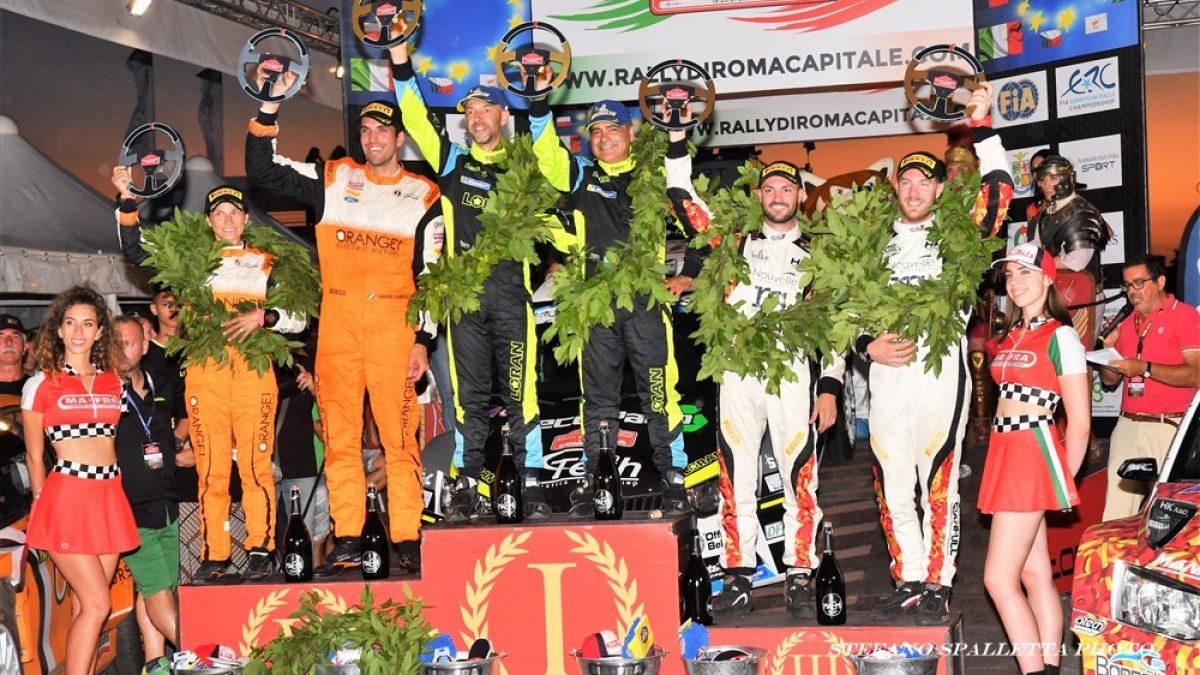podio rally roma capitale 2019
